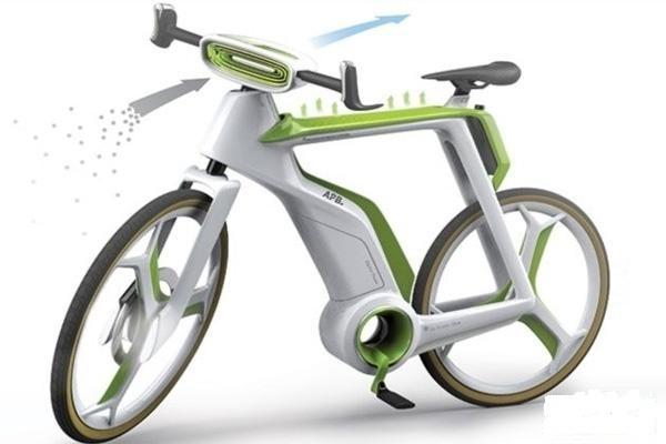 دوچرخهای که با از بین بردن آلودگی هوا را تصفیه کرده و اکسیژن تولید میکند